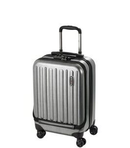 "Profile Plus - Business Trolley ""Hoch"" in Metallic Grey Brushed"