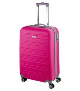 Travel Line 9400, Trolley aus ABS in pink