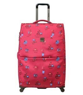 Vespa, Check-In Trolley und Reisetasche in pink