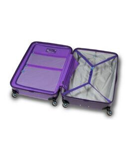 Tricolour Luggage - Purple Bloom S