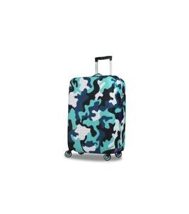 HuG Luggage Cover Camo Funky Medium