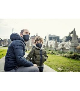 Active Mask Kids Dark Grey