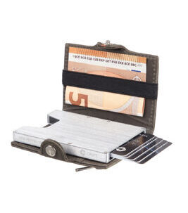 Cript Mini Wallet - 3.55 STEEL grey