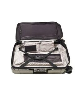Lexicon - Global Hard Side Carry-On in Titanium