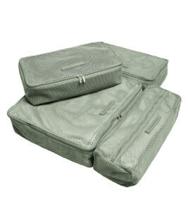 Packing Cubes 4-teiliges Set in Marine Green