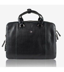 "NEW Berlin - Aktentasche 13"" Laptopfach in Schwarz"