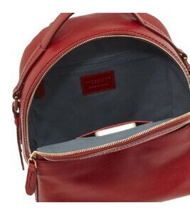 Pearl District - Back Pack 26 cm in Rot Gold