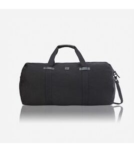 Canvas - Duffle Bag in Schwarz