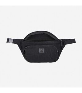 Canvas - Casual Waist Bag in Schwarz