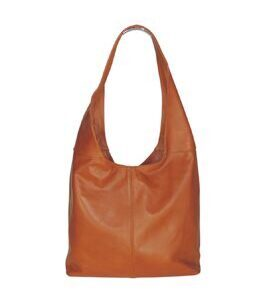 Lola Shopper in Orange Braun