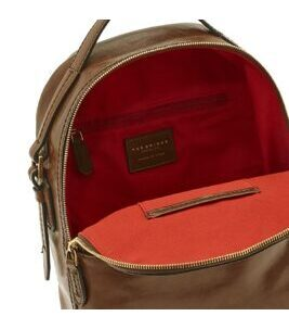 Pearl District - Back Pack 26 cm in Gold Brown
