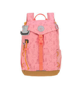 Lässig Kindergartenrucksack Outdoor - Adventure Rosa
