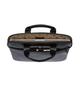 "Texas - 15"" Slim RFID Laptop Brief in schwarz"