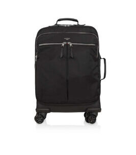 "Mayfair Park Lane 15"" 4-Rad Trolley in Schwarz/Silber"