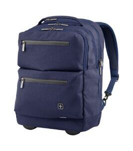 "CityPatrol - 16"" Zoll Laptop Rolling Backpack in Navy"
