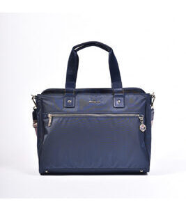 "Appeal L Handbag 14"" in Mood Indigo"