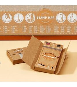 Stamp Map Passport - Stempelkarten Set