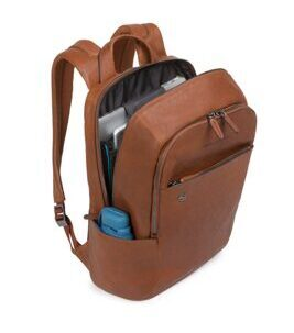 Black Square - Laptop-Rucksack CONNEQU in Tan