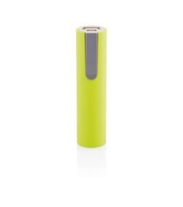 2200mAh Power Bank in Green/Grey