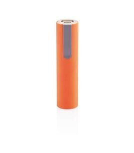 2200mAh Power Bank in Orange/Grey