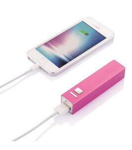 Backup Battery in Pink