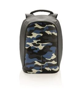 Bobby Compact - Anti-Diebstahl Camouflage Blue