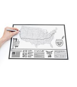 Travel Edition Scratch Map USA - Reisekarte