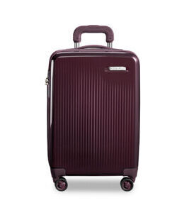 Sympatico, International Carry-On expandable Spinner in plum
