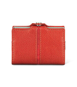 Cript Mini Wallet - 3.55 STEEL fire red