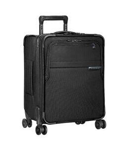 Baseline, International Carry-On Expandable Wide-Body Spinner in schwarz