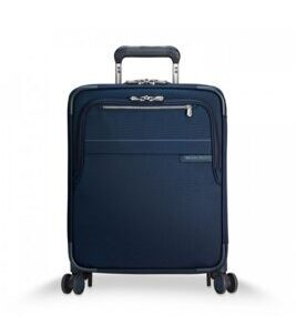 Baseline, International Carry-On Expandable Wide-Body Spinner in navy