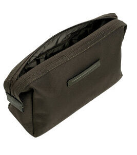 Koenji Wash Bag Kulturtasche in Dark Olive