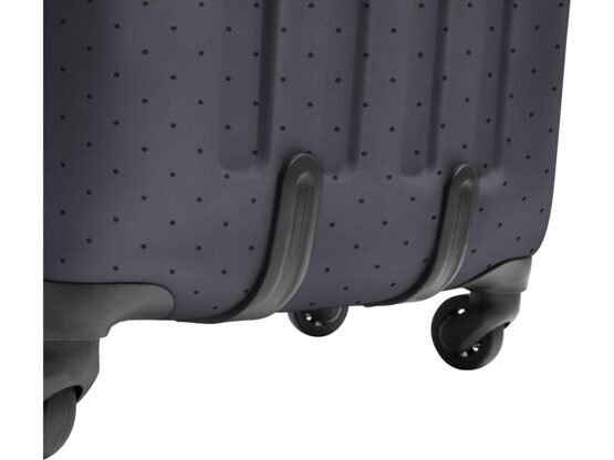 Tranzshell Large Koffer & Trolley in Dot Grey
